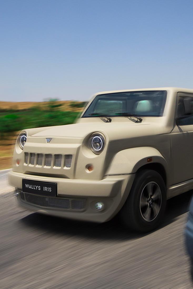 wallyscar: une voiture hybride en vue